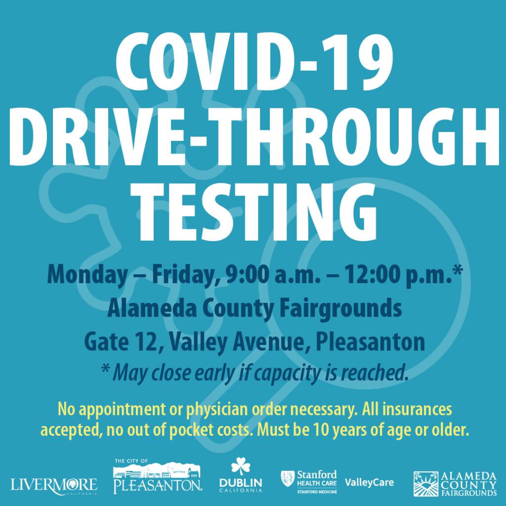COVID-19 Drivethrough Testing
