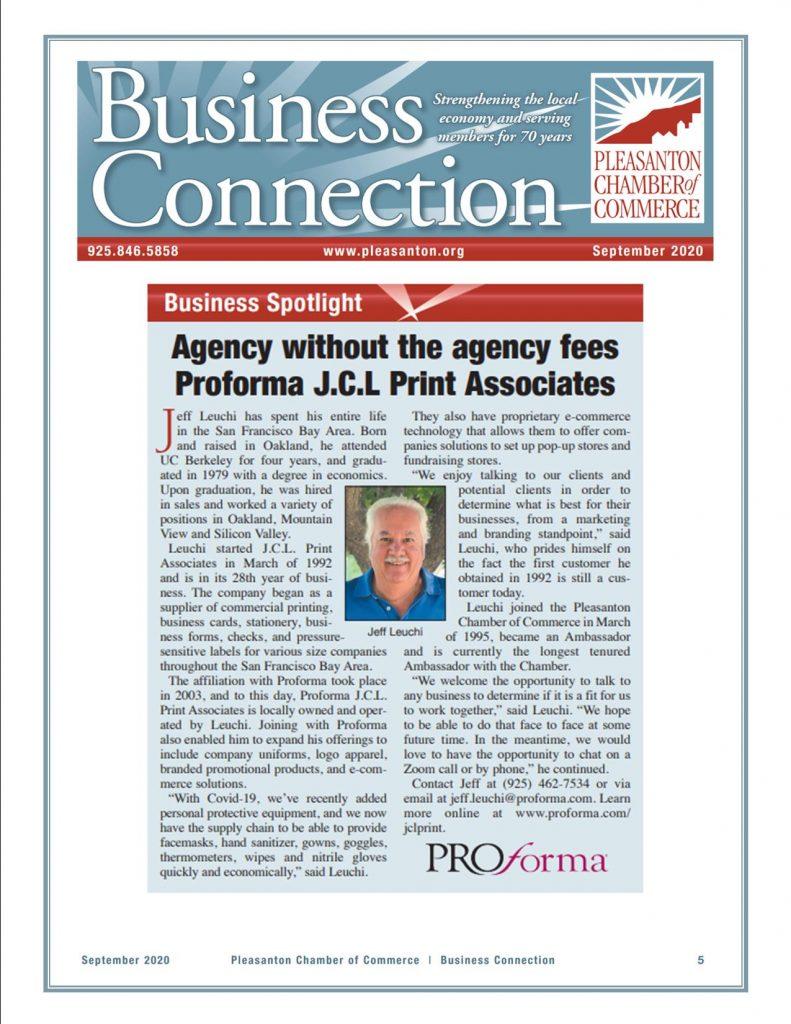 Proforma JCL Print Associates Business Spotlight