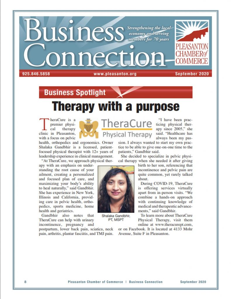TheraCure Physical Therapy Business Spotlight