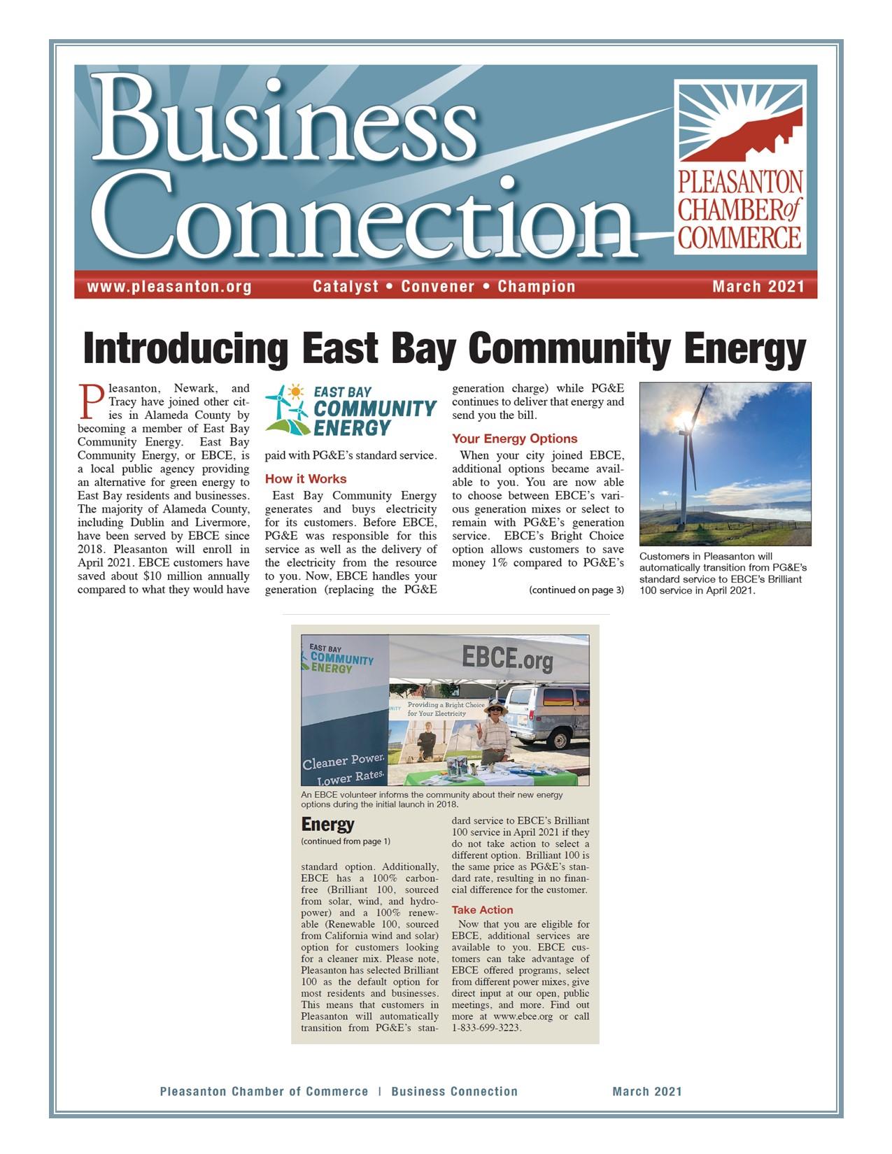 East Bay Community Energy Spotlight