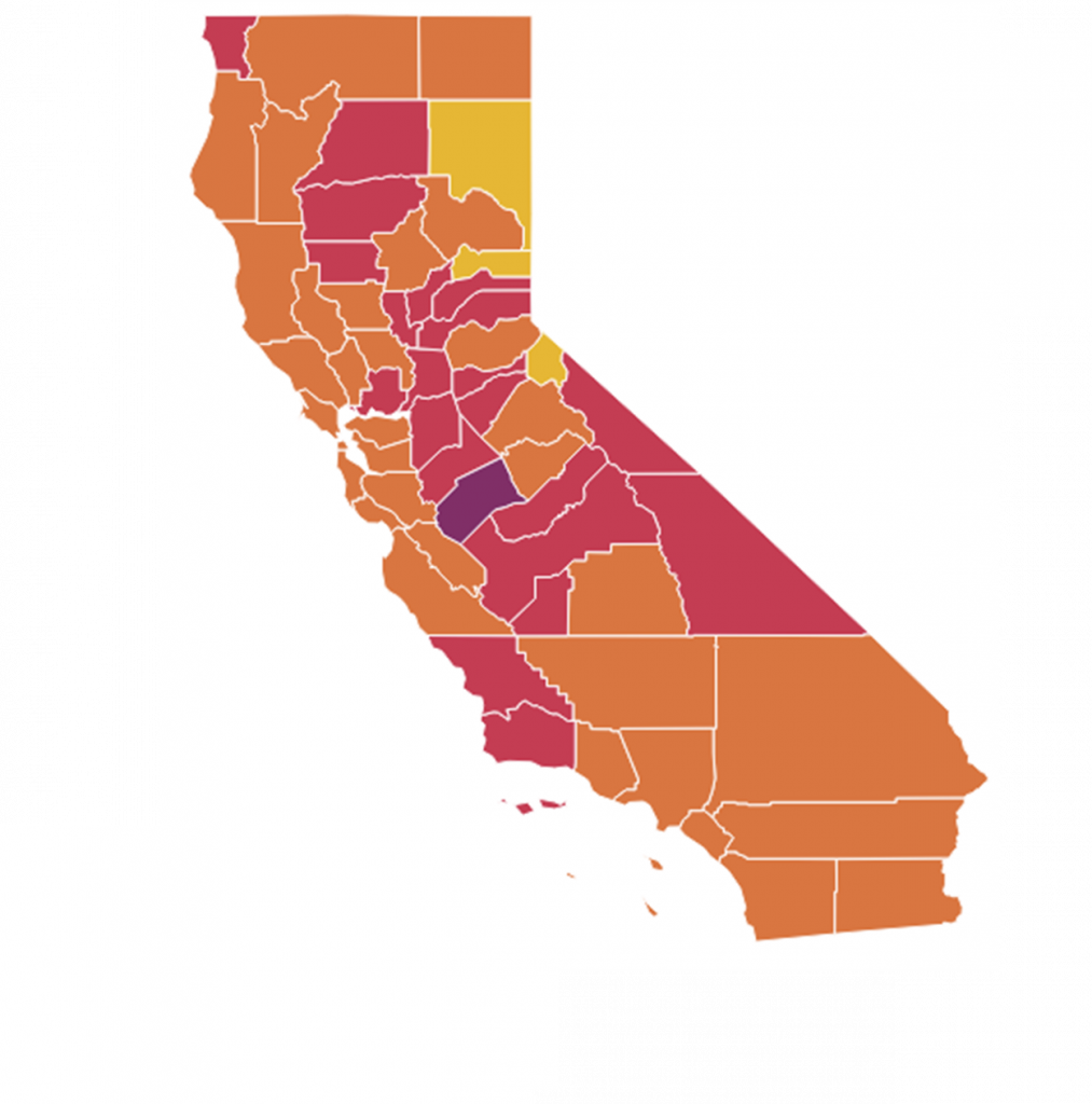 CA County Map 4.13