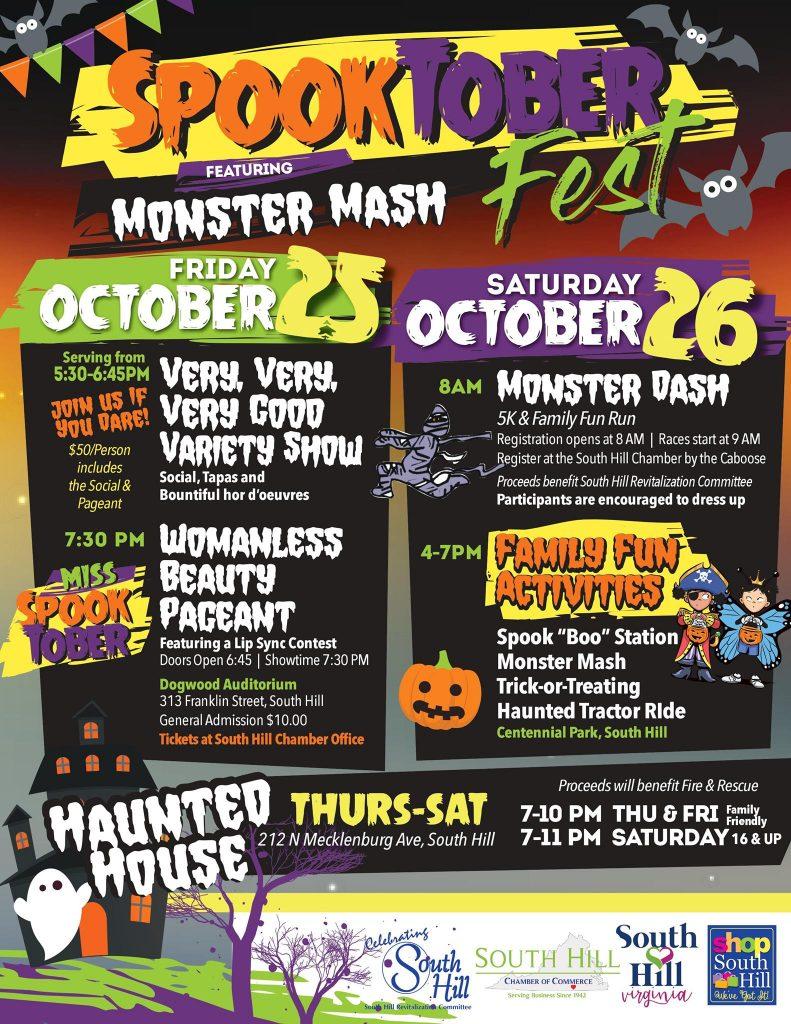 Spooktoberfest Featuring Monster Mash