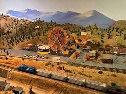 model train museum art-vignette