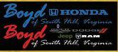 Boyd Honda of South Hill; Boyd Chevrolet, Dodge, Jeep, Ram of South Hill