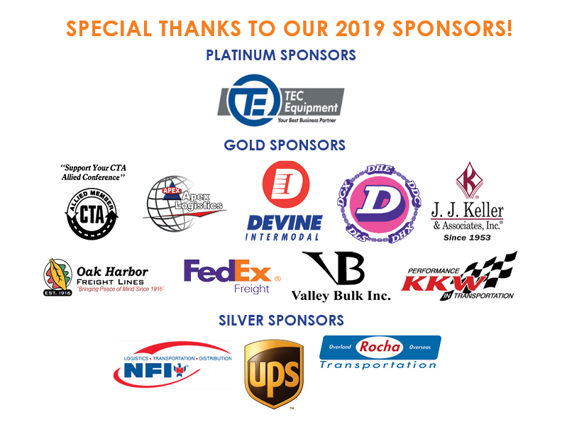 2019 Sponsors Updated