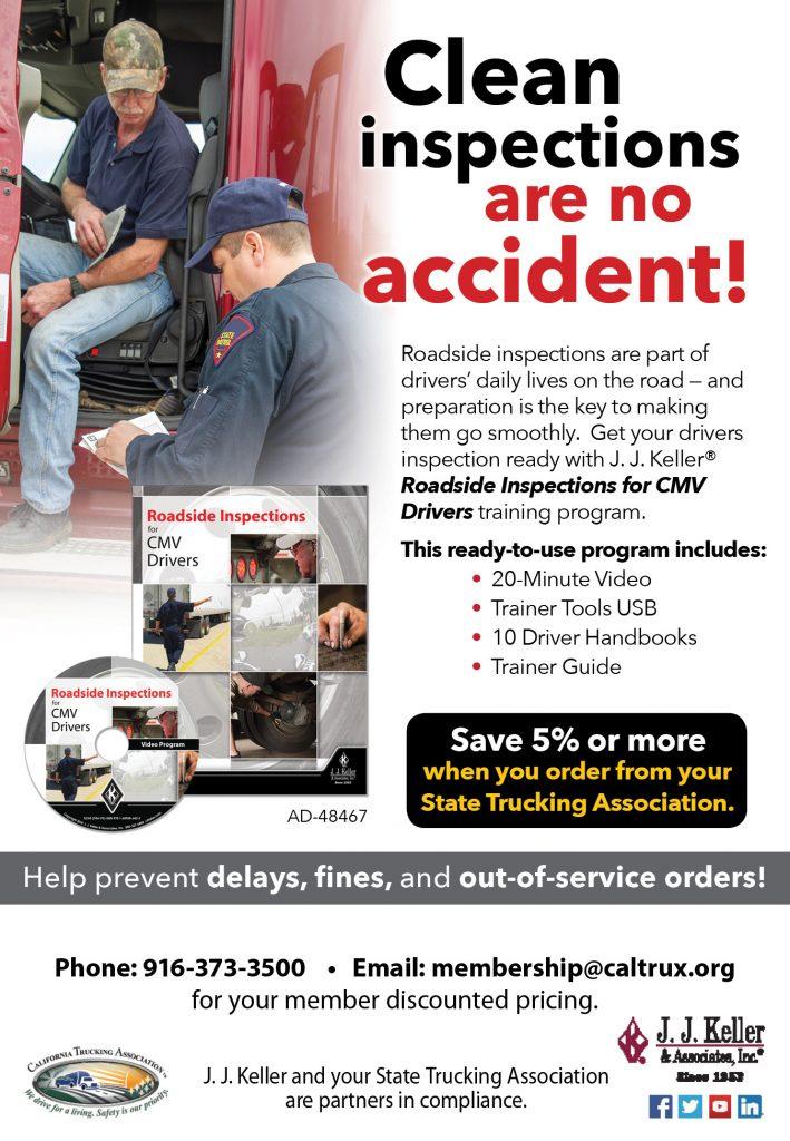 JJ Keller Roadside Inspection Ad