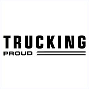 Trucking proud gray border