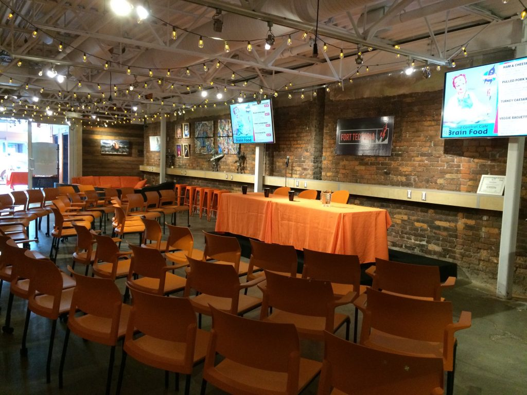 Event space for workshops, meeting, receptions and more!