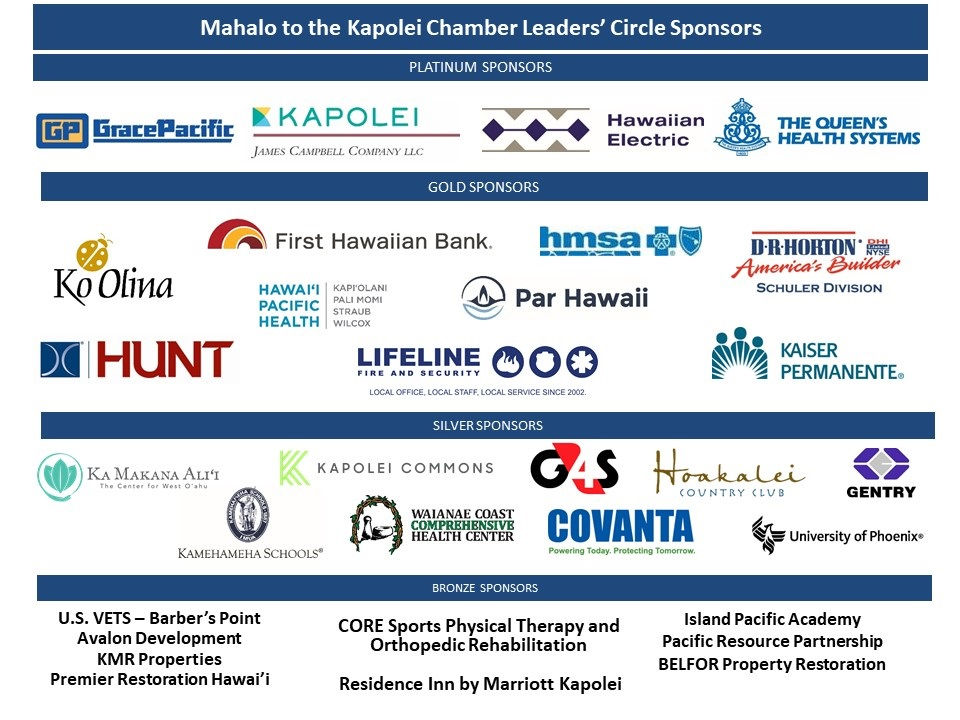 MAHALO TO OUR SPONSORS (08312021)