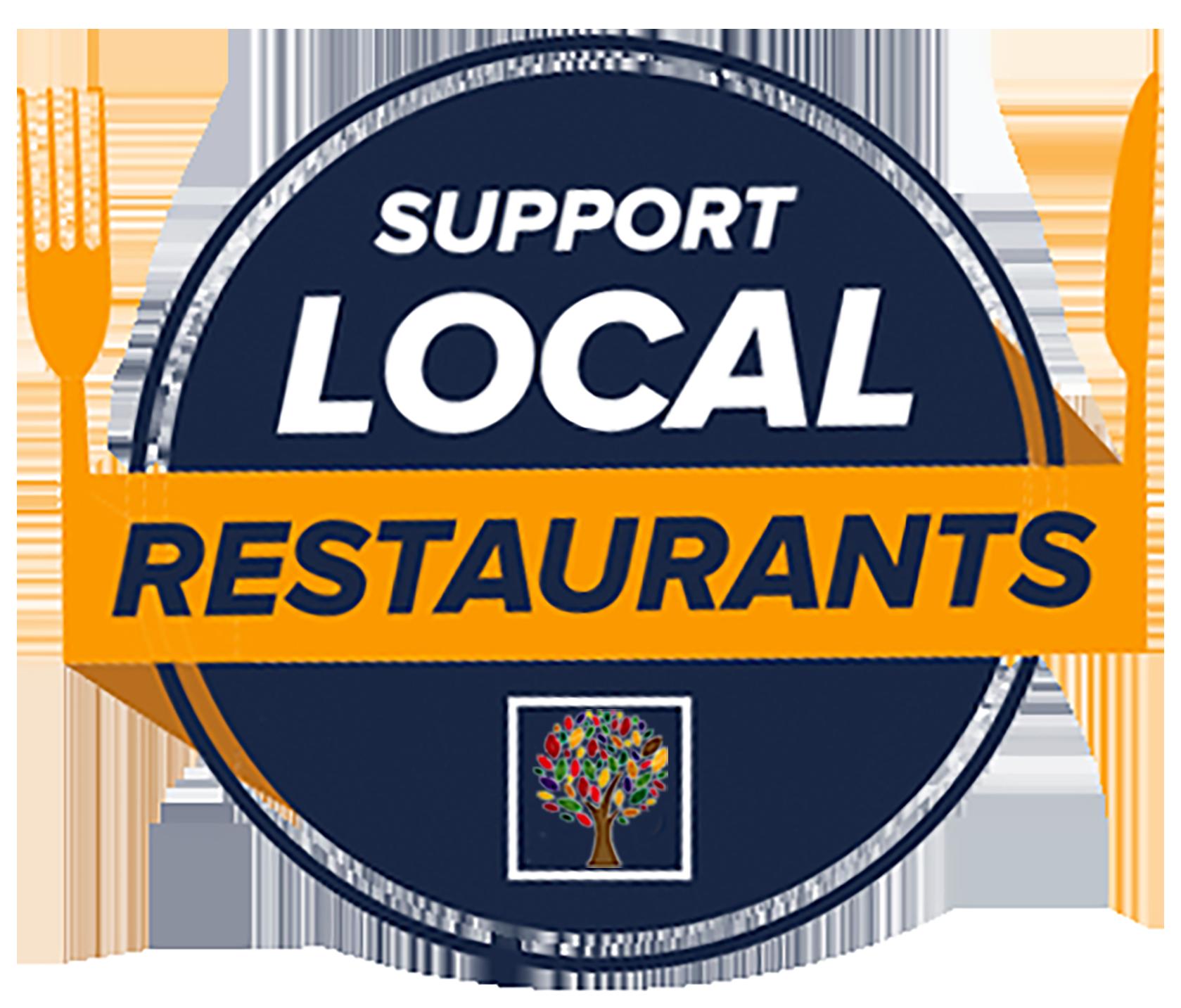 support local restaurants Logo_Top tree