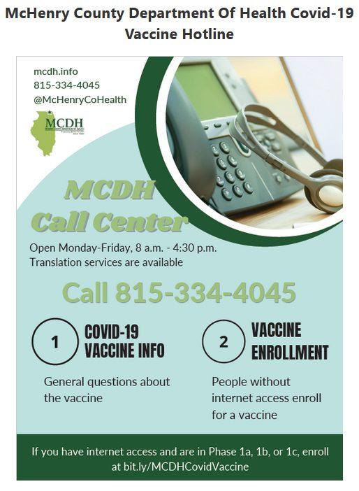 mcdh hotline