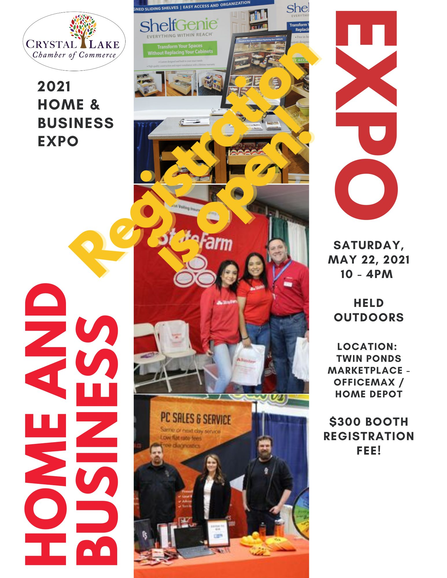 2021 home and business expo flyer