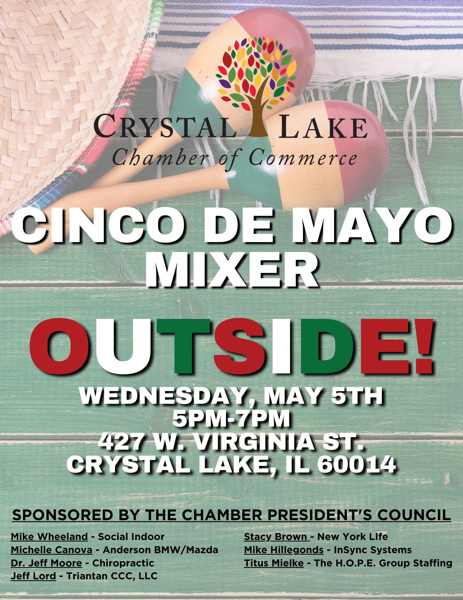 Cinco De Mayo Mixer Website
