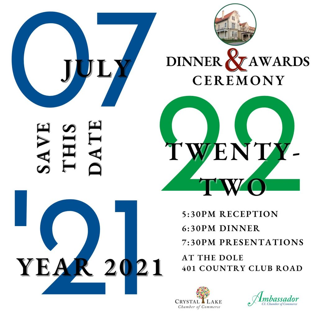 Annual Dinner Save the Date Invitation