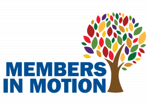 Members in Motion Logo