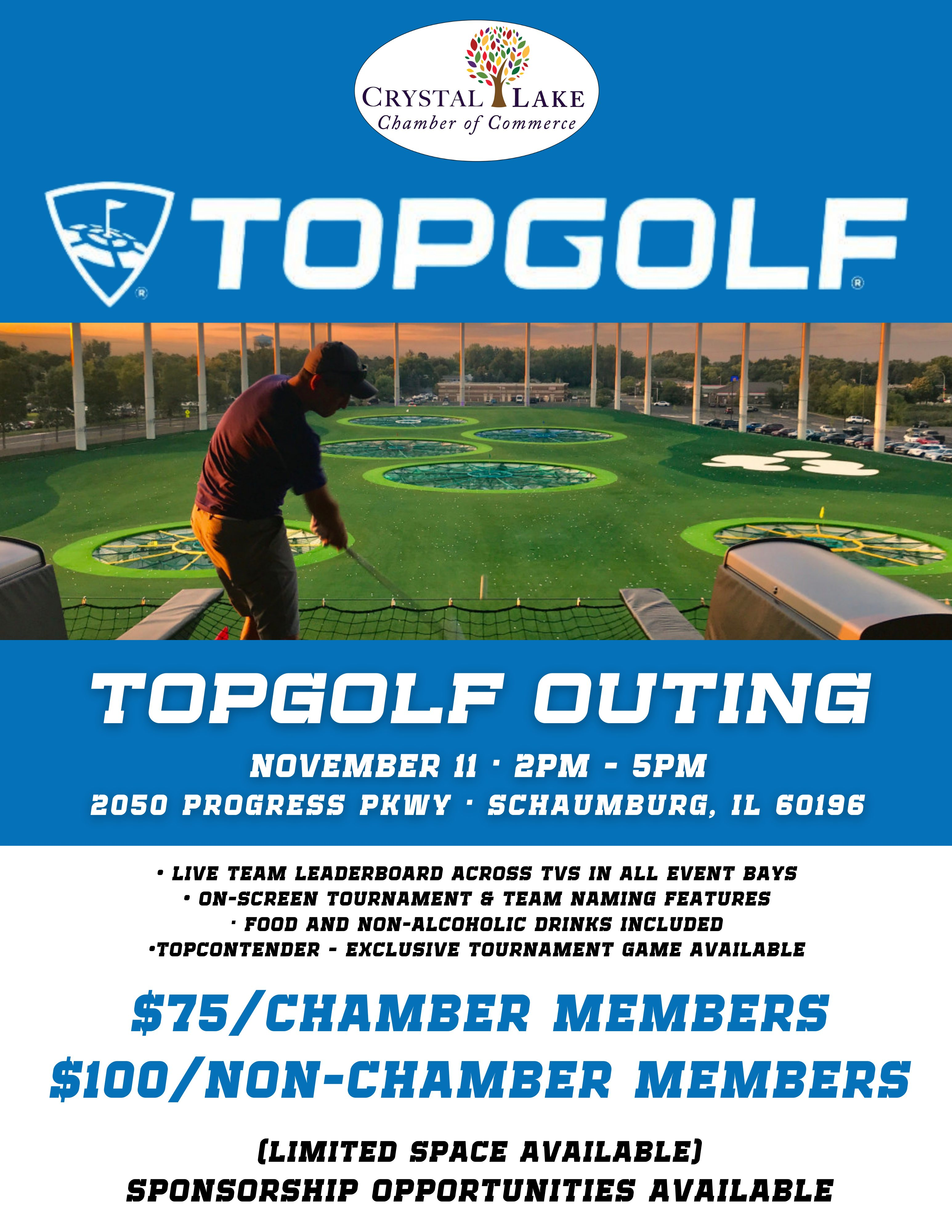 Topgolf Outing