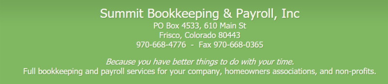 Summit Bookkeeping
