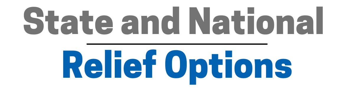 State and National Relief Options 1200x300