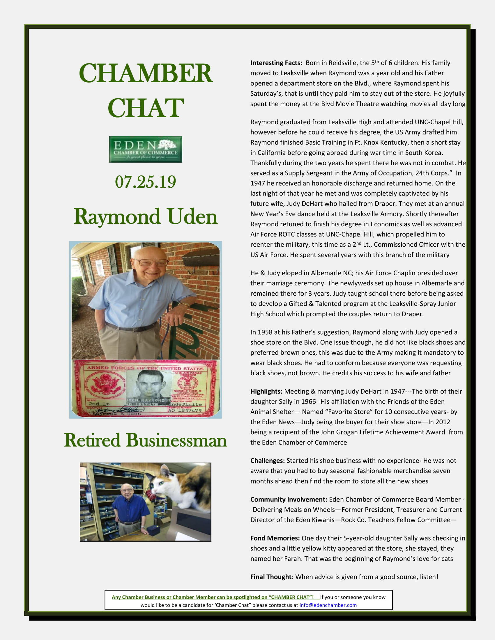 CHAMBER-CHAT-Raymond-Uden.-Eden-Retired-Businessman-1