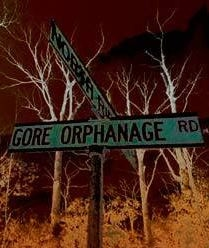 Gore Orphanage Road Sign