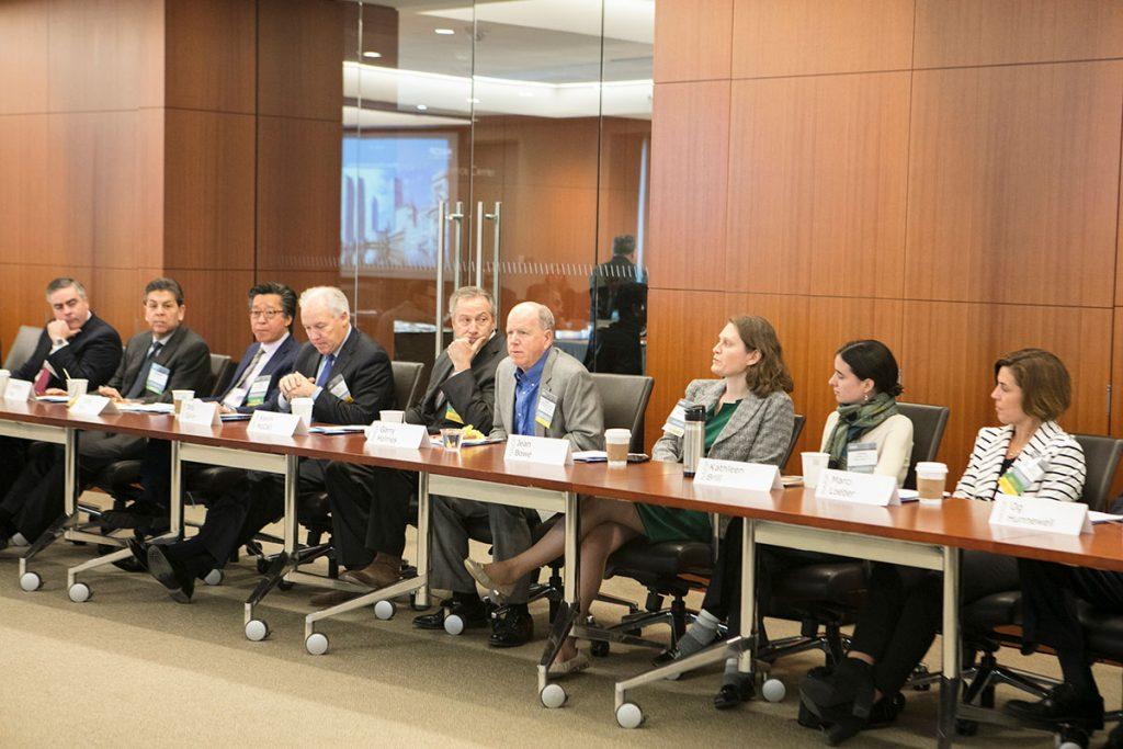 NAIOP Board of Directors seated at a meeting.