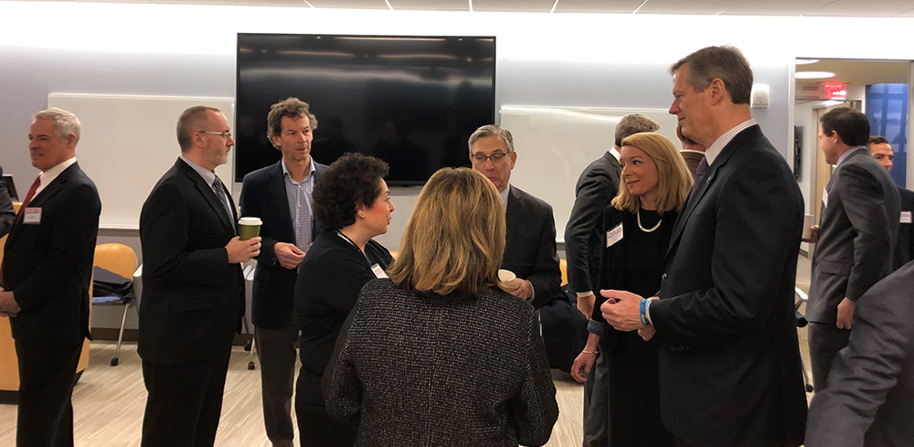 Governor Baker and NAIOP Members