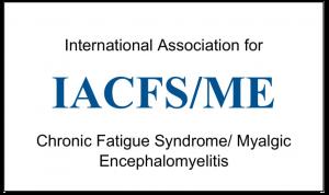 IACFS/ME International Association for Chronic Fatigue Syndrome/ Myalgic Encephalomyelitis Logo