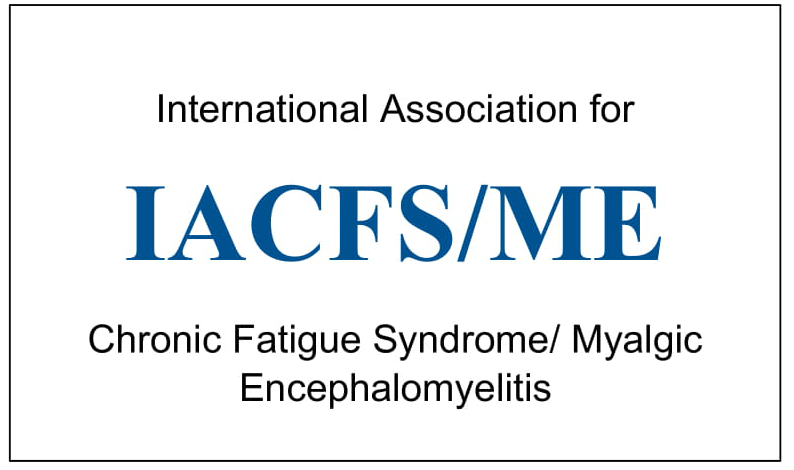IACFS/ME International Association for Chronic Fatigue Syndrome/ Myalgic Encephalomyelitis Logo