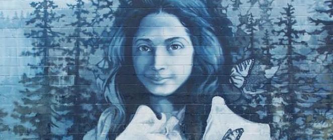 Opal Whiteley Mural