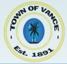 Town of Vance Logo