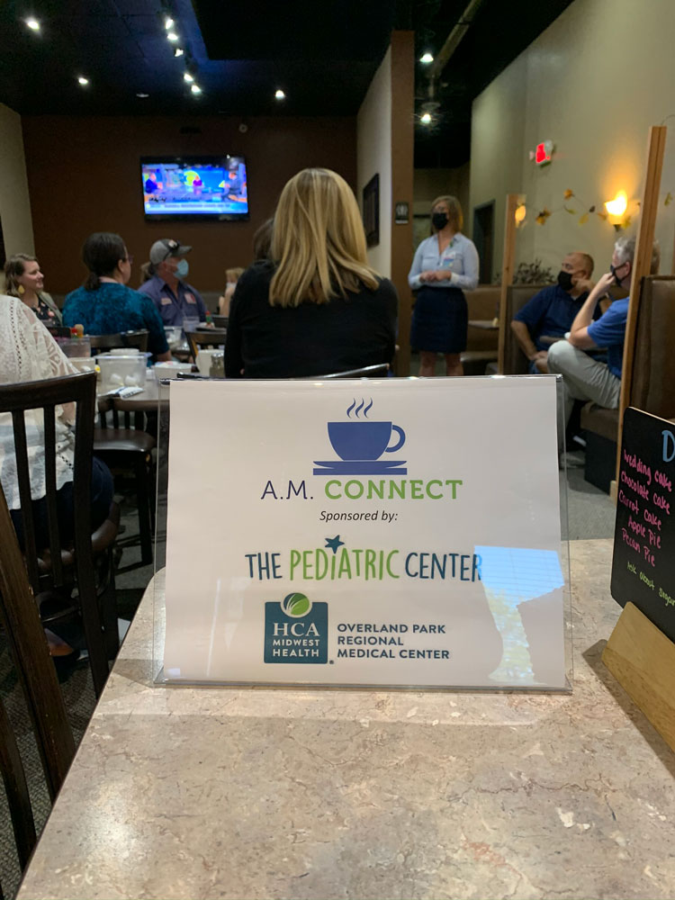 Shawnee Chamber A.M. Connect at Pegah's Restaurant