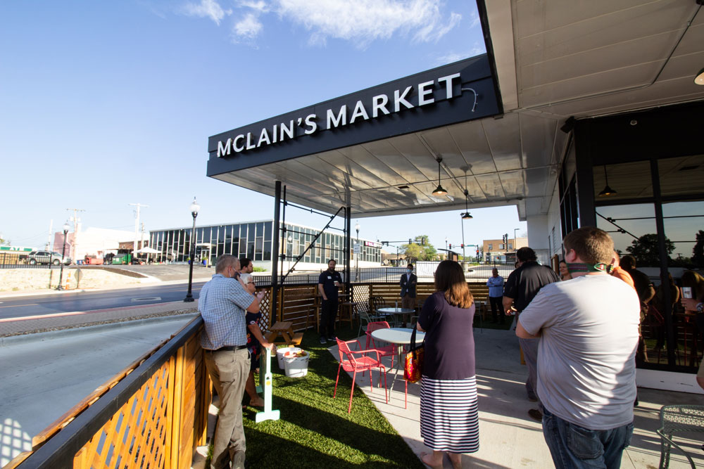 Shawnee Chamber A.M. Connct at McLain's Market