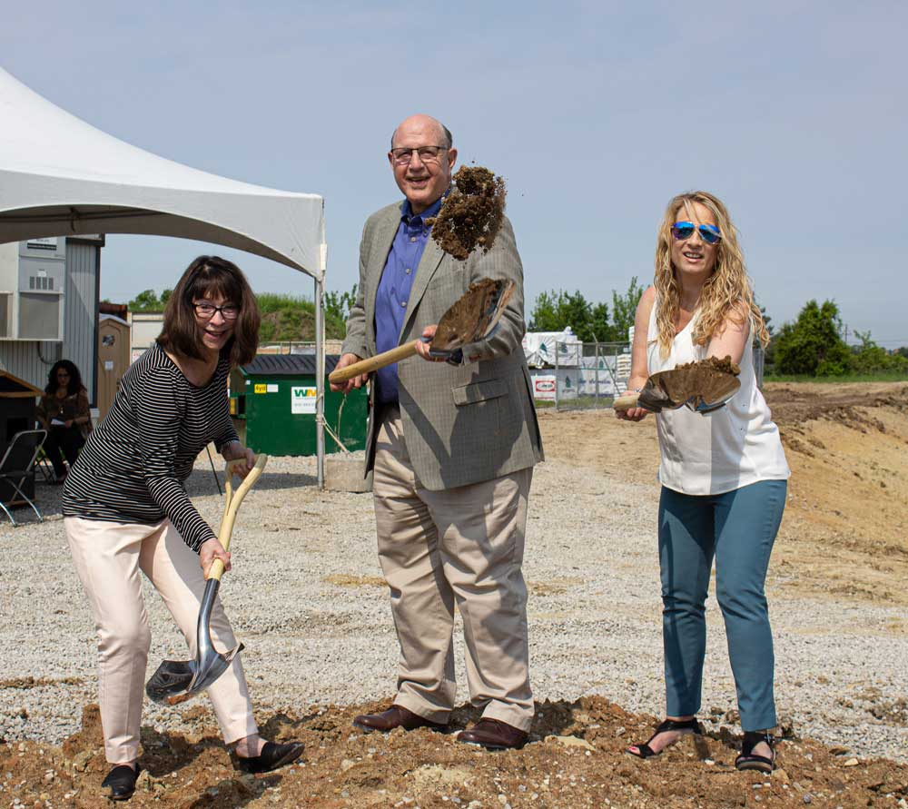 Shawnee Chamber Ground Breaking for Reflection Living