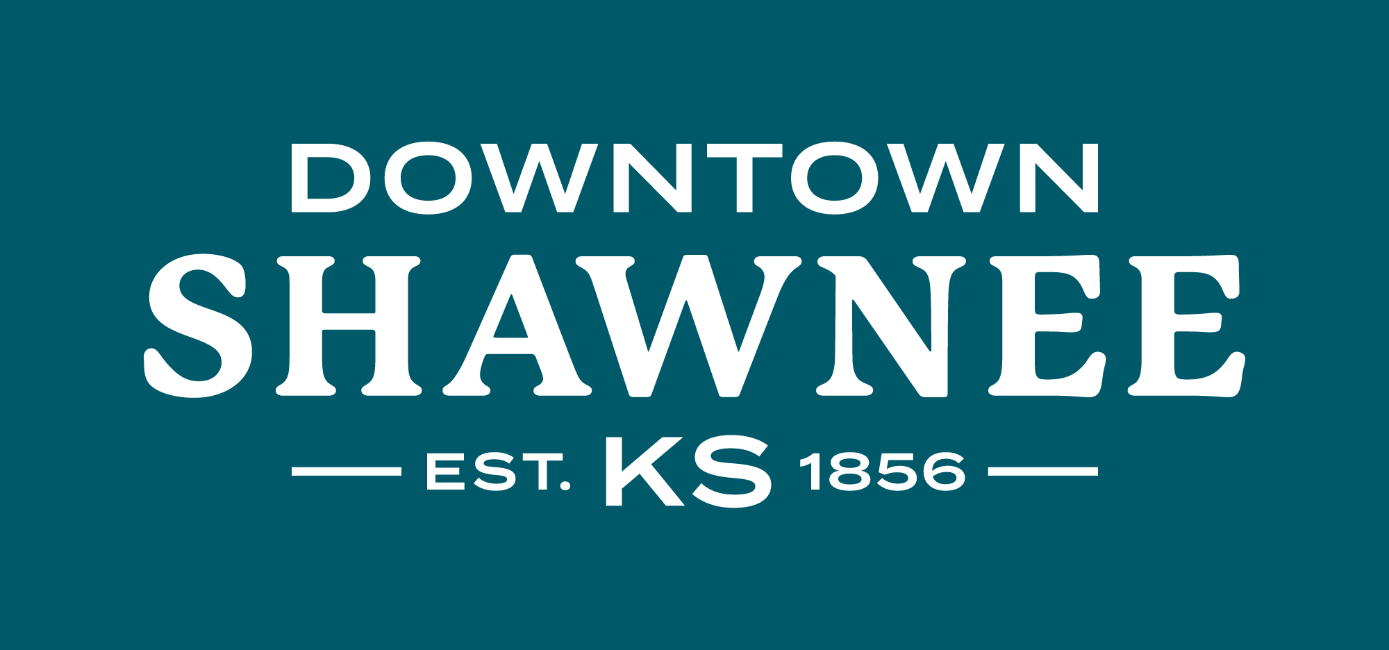 Downtown_Shawnee_Reverse-Dark Teal_RGB