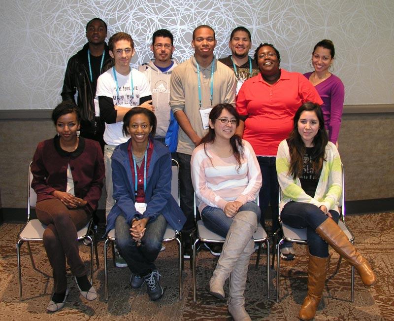 2013 Undergraduate Diversity Award Recipients