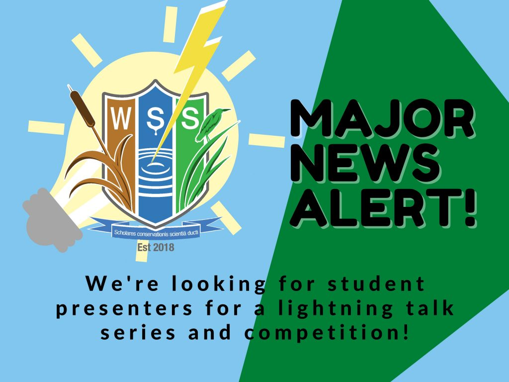 Calling all Student Presenters!