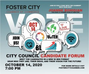 Foster City City Council Candidate Forum 2020