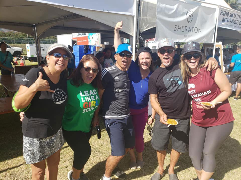 RAM members at the 2019 Charity Walk