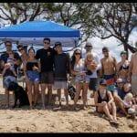 RAM/YPN members clean up Sugar Beach