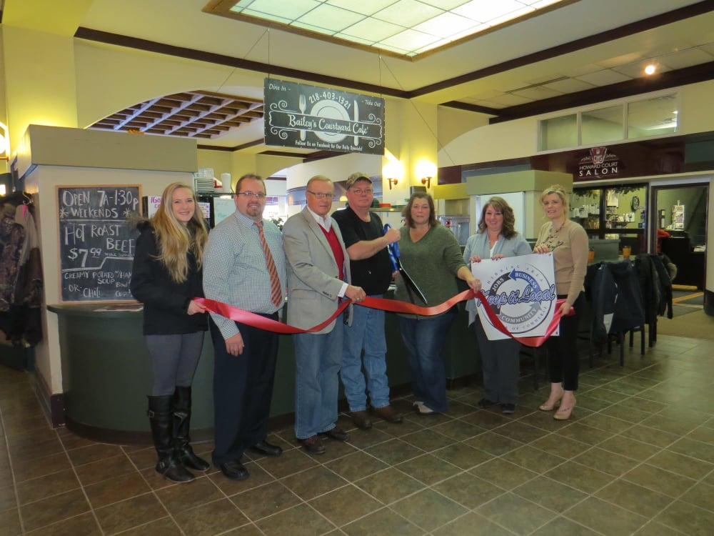 Bailey's Courtyard Cafe - New Business