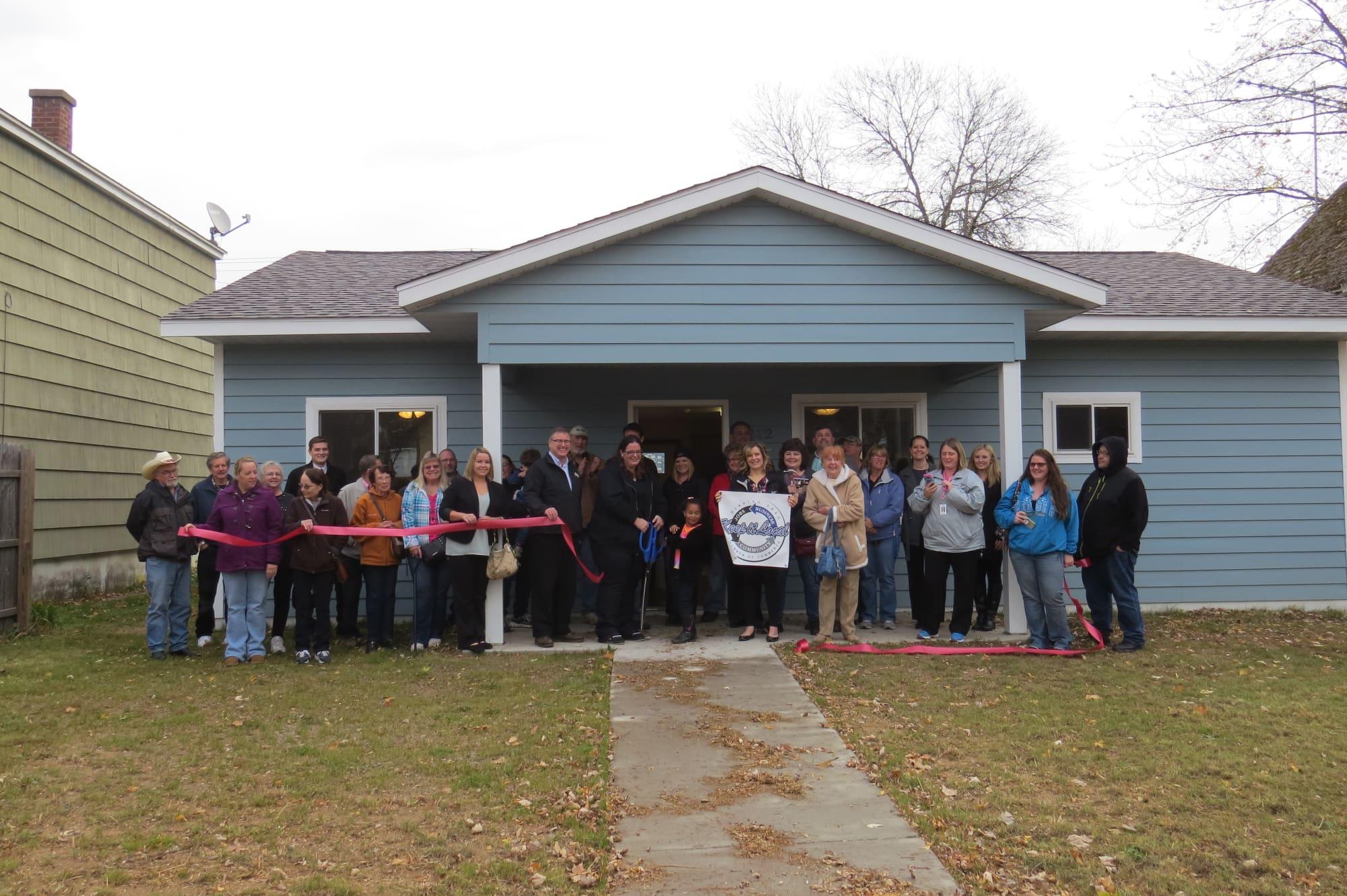 North St. Louis County Habitat for Humanity Home Dedication - Zozgornik Family