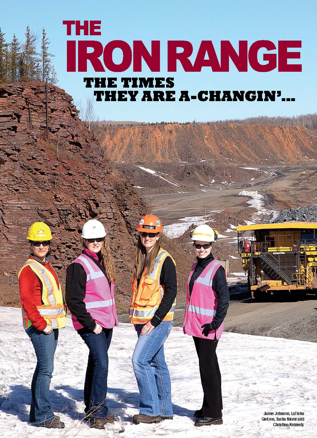 The Iron Range Times are Changing Cover