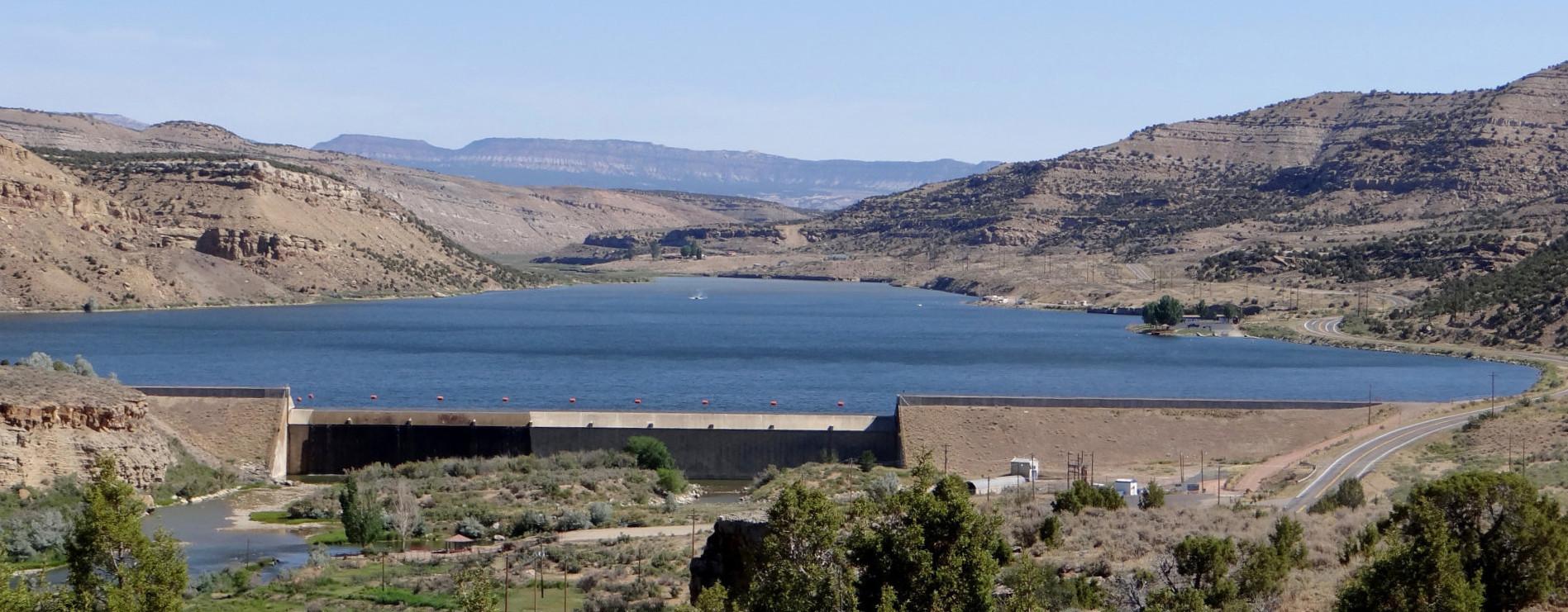 Kenney Reservoir Dam
