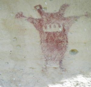 the Guardian rock art