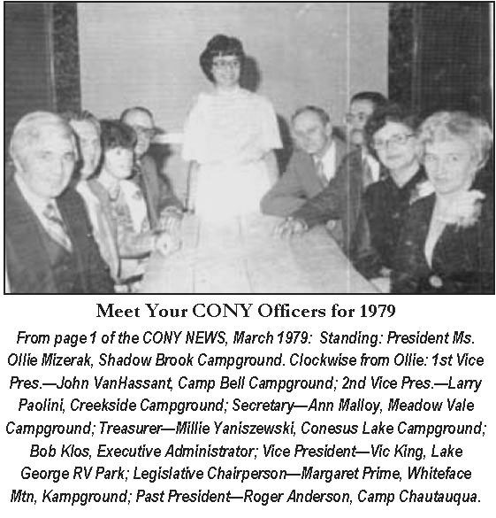 Board of Directors 1979