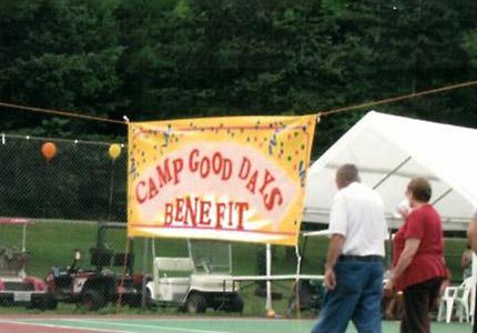Camp Good Days Fundraiser Banner