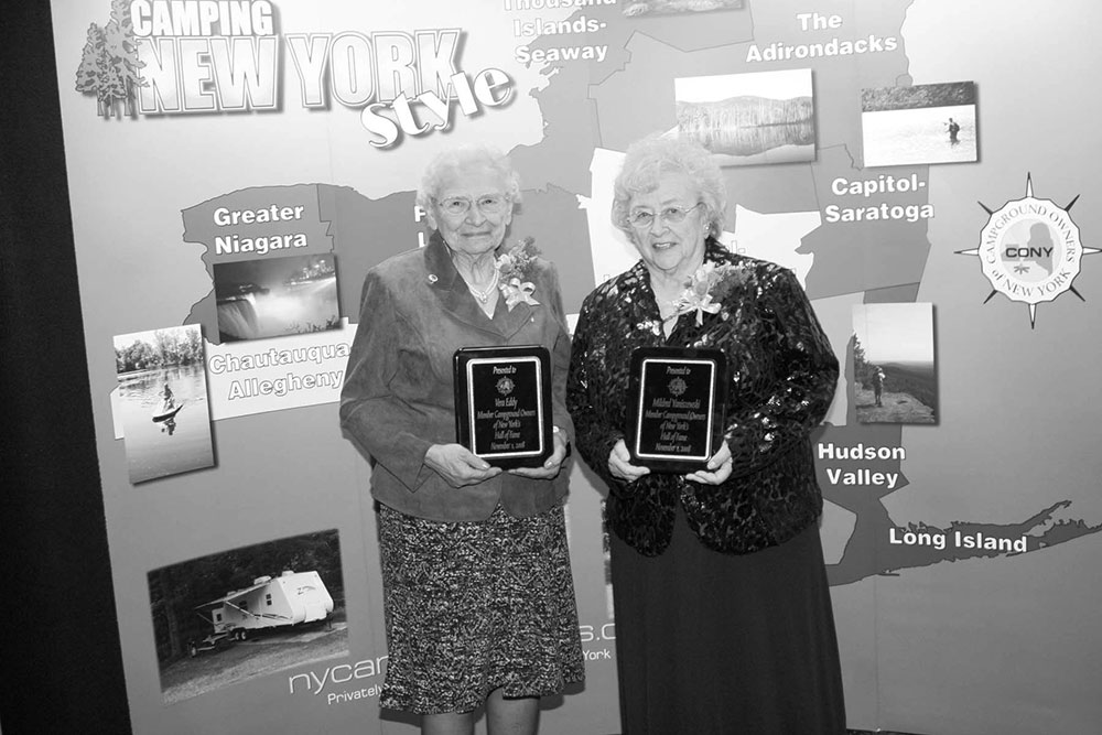 Vera Eddy and Mildred Yaniszewski