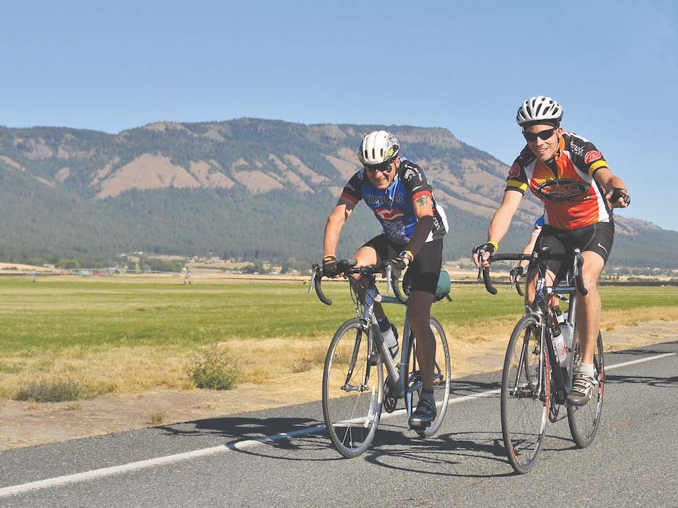 Cycle Oregon leg 1 - From Elgin to Union, Oregon