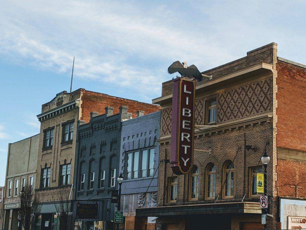 Liberty Theatre on Adams