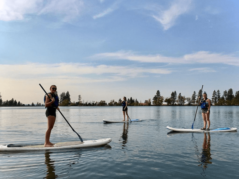 Paddleboard Morgan Lake